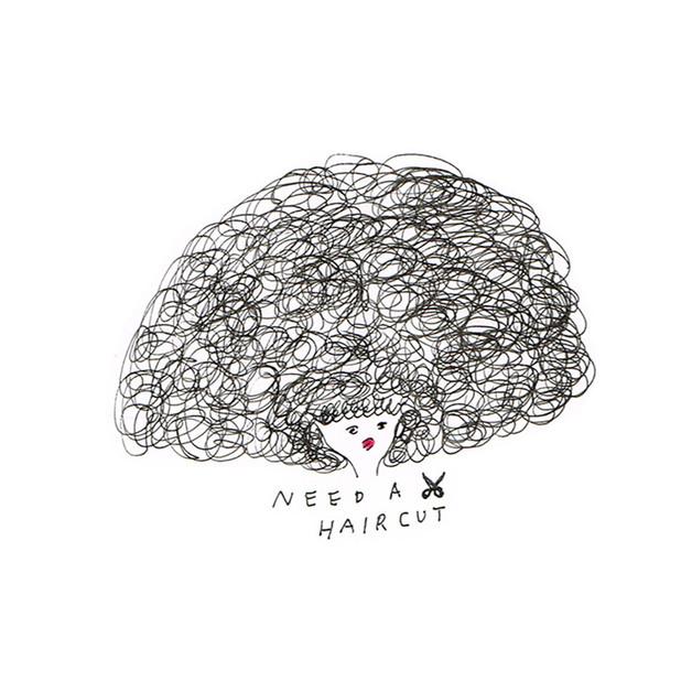 髪切りたい