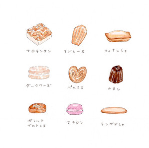 フランスの焼き菓子