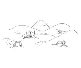 箱根のイメージ