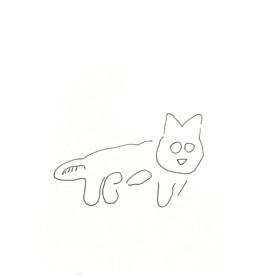 ナスカの地上絵の猫さん