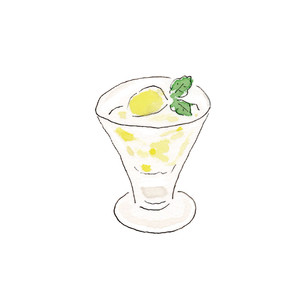 デニーズのレモンゼリーが食べたい