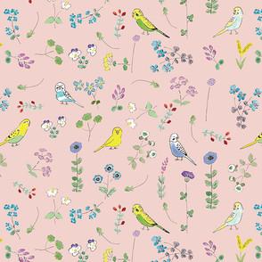 インコと小花.jpg