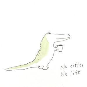 コーヒー飲みにくい。大好きだけど!