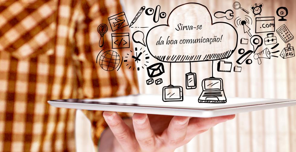 Menu Comunicação: assessoria de comunicação corporativa para fortalecer a imagem do cliente junto ao público e à mídia.