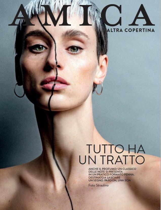Anne for Amica Magazine Cover