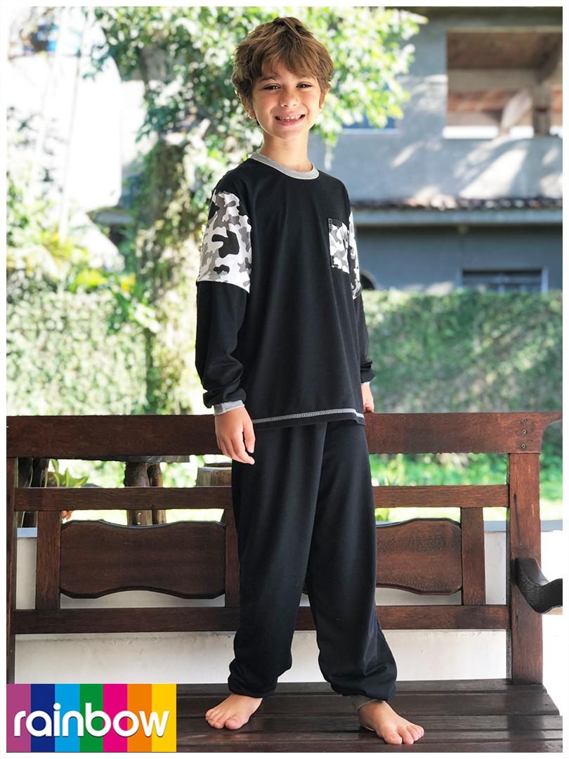 Pijama em POLIVISCOSE
