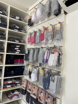meias e acessórios