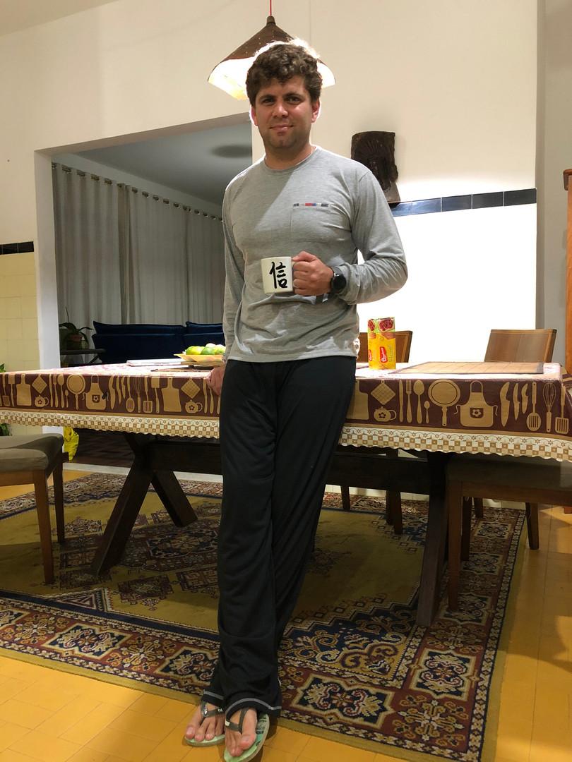 Pijama adulto em POLIVISCOSE
