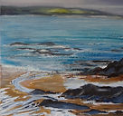 After the rain. St Ives from Godrevy Hea