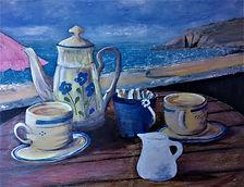 'Tea for Two' Beachcomber Cafe Praa Sand