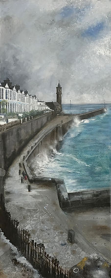 'Lady in Red' Porthleven Cornwall.jpg