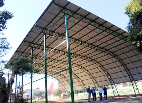 Novo Ginásio Poliesportivo deve ser entregue no primeiro semestre de 2018