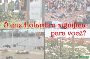 O que Holambra significa para você? - Jornal da Cidade - JC Holambra