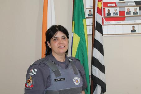Primeira PM mulher de Holambra assumirá  atividades do PROERD