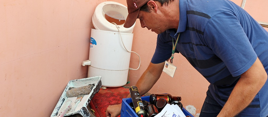 Agentes comunitários mantêm combate preventivo ao mosquito da dengue