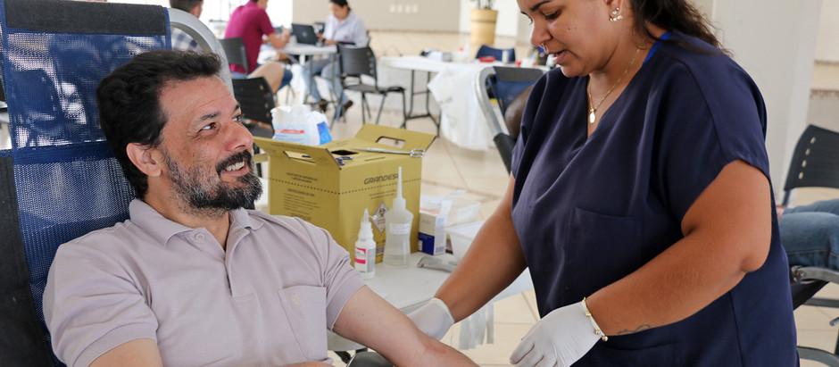 Campanha de doação de sangue teve a solidariedade de 54 holambrenses