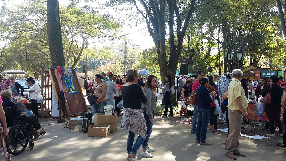 Mercado das Pulgas Holambra