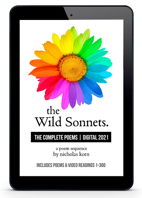 The Wild Sonnets: Complete Poems | Digital 2021 (1-300)