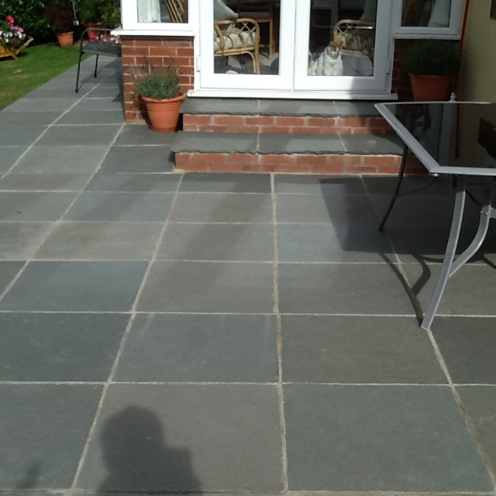 Kotah Blue Limestone Sealed