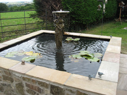 Fossil Mint Water Feature
