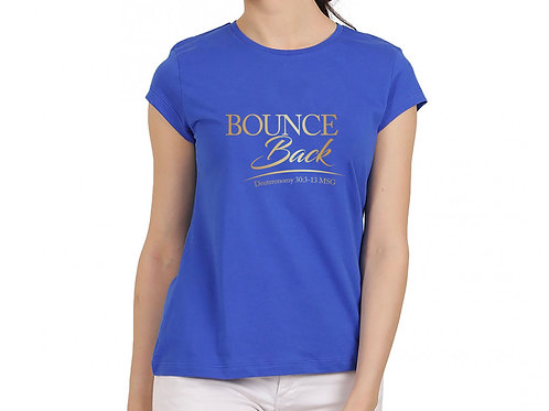 Bounce Back Tees - Blue