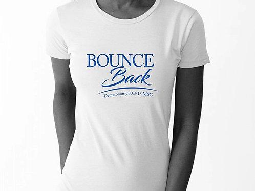 Bounce Back Tees - White