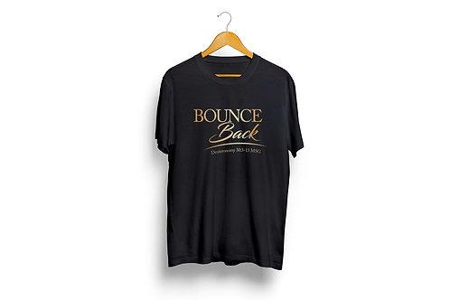 Bounce Back Tees - Black