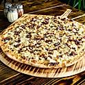 Chicken Bacon Ranch White Pizza