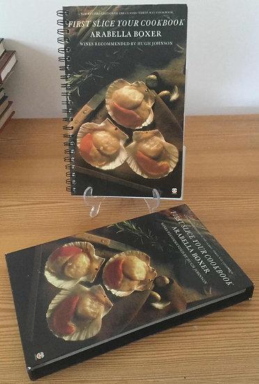 First slice your cookbook | Arabella Boxer