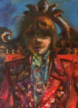 Sven Berlin   Guy in Hippy Gear, 1968 (detail)