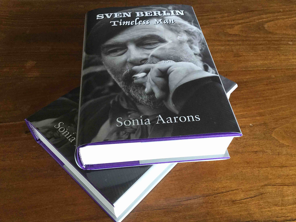 The biography Sven Berlin Timeless Man by Sonia Aarons available from Millersford Gallery.