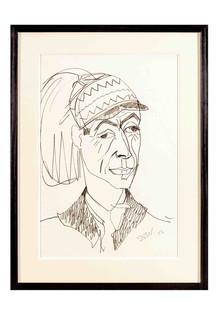 Sven Berlin   Cliff Lee wearing Lapp Hat