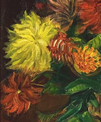 Sven Berlin | Summer Flowers  (detail) 1954
