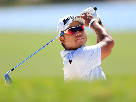 THE LIGHTER SIDE OF MATSUYAMA AS HE LOOKS TO TURN GREEN TO GOLD AT TOKYO OLYMPICS