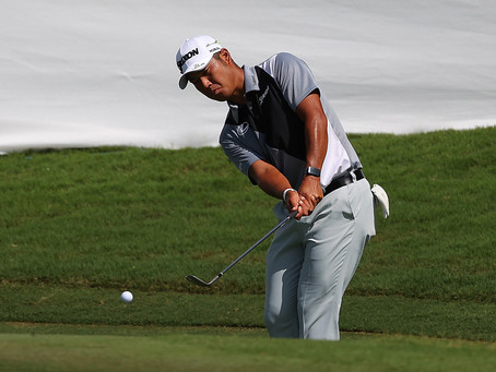 Matsuyama eyes come-from-behind win at TOUR Championship to wrapup perfect season