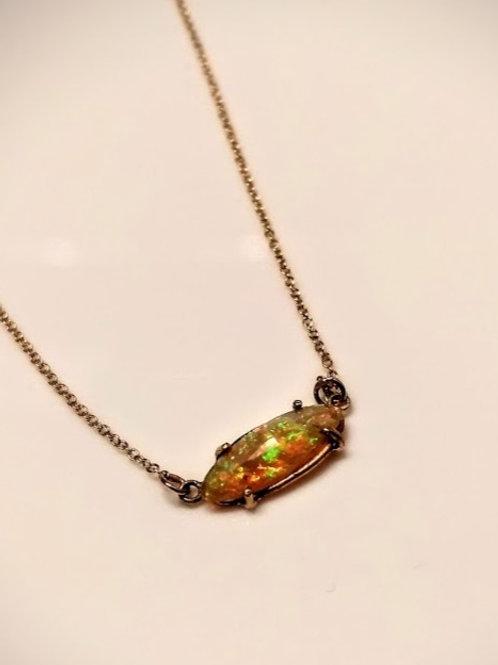 Ethiopian Opal - orange