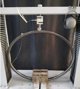 test labo déformation verticale jante carbone amaruq wheels
