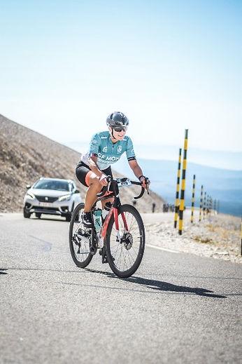 Sandrine Derwaux Ventoux - Bingoal WB Ladies team