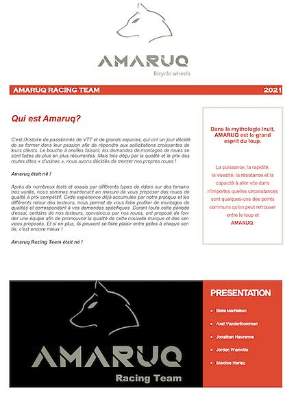 amaruq racing team