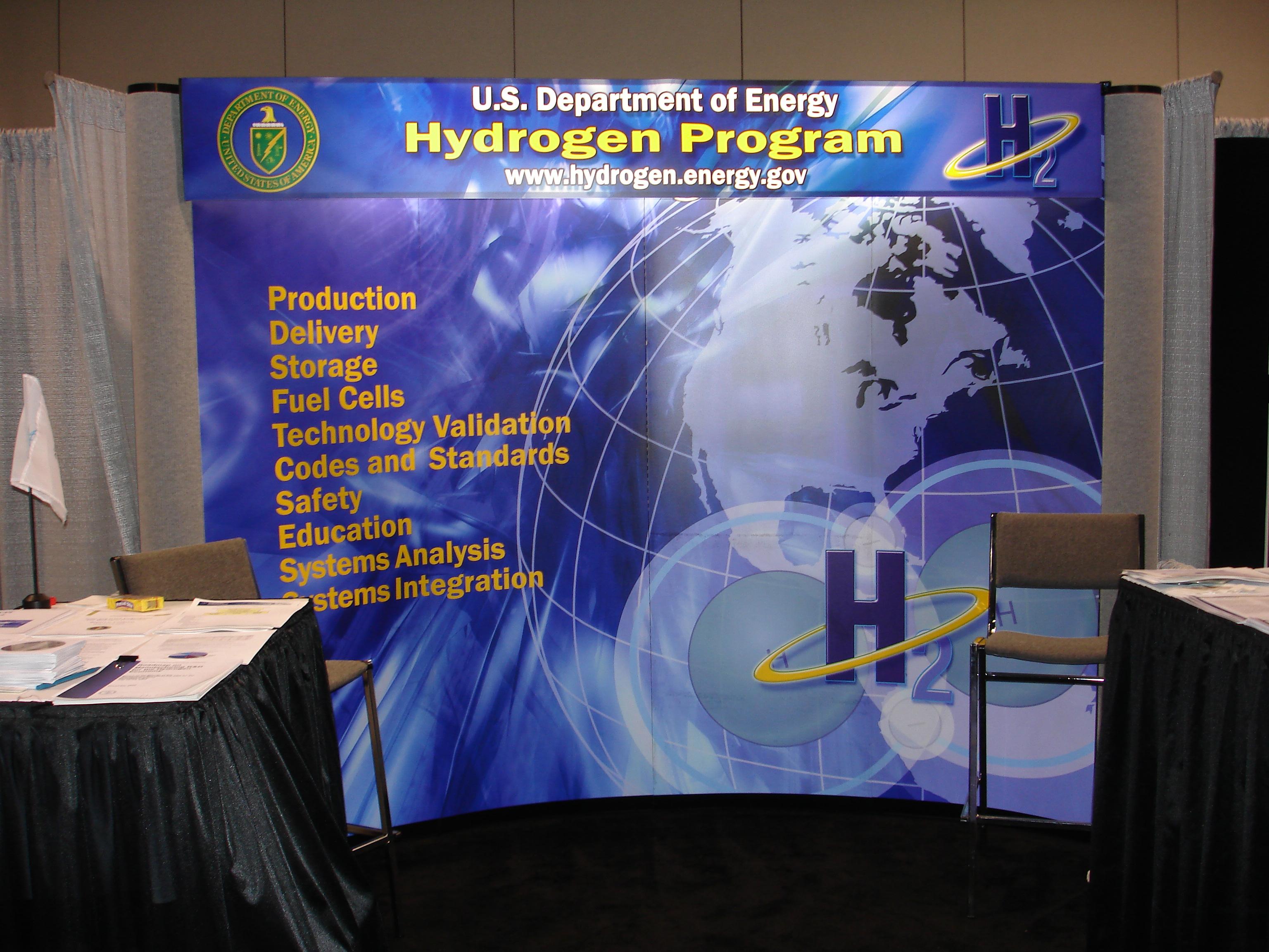 DOE Hydrogen booth.JPG