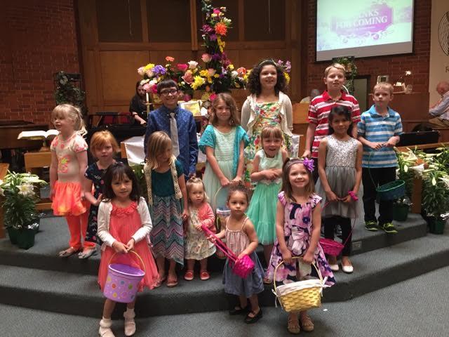 Children Easter 2016