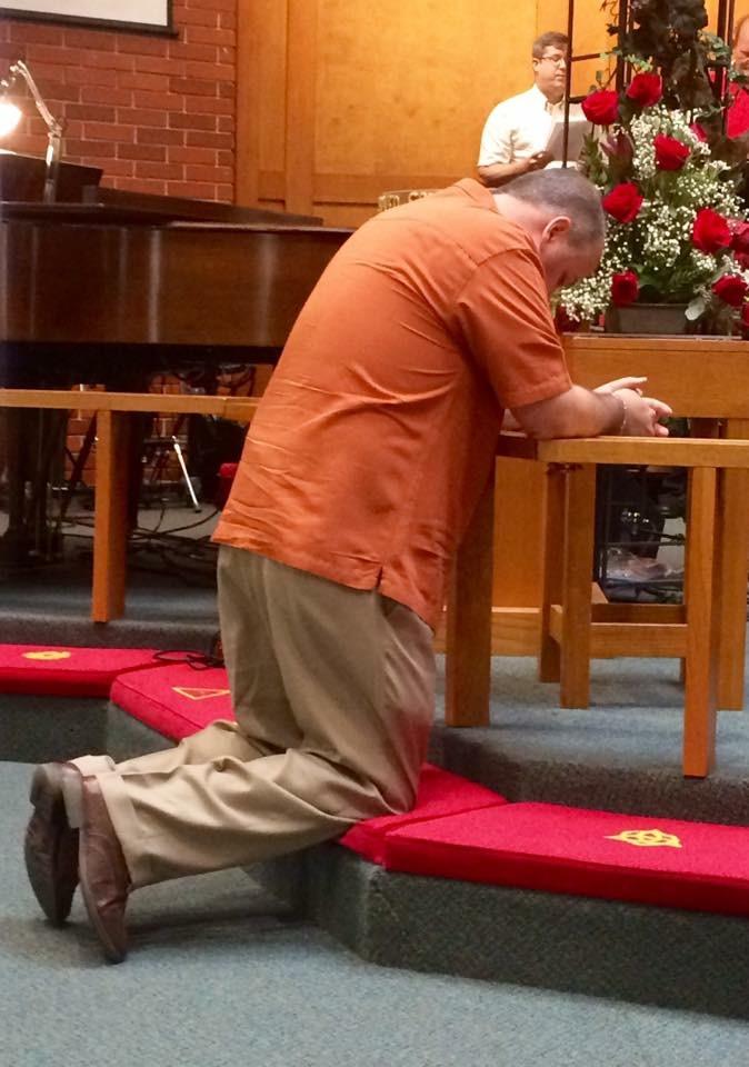 Prayer after receiving