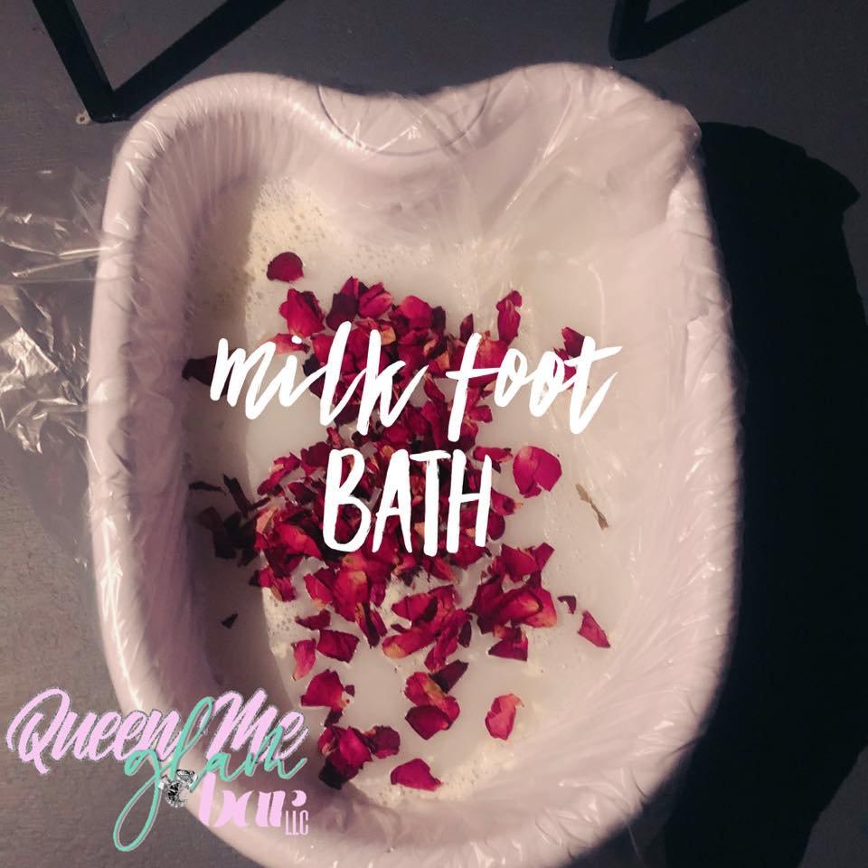 Milk Bath Foot Soak