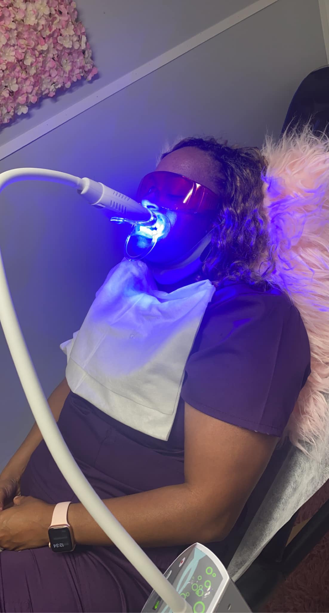 July Special Teeth Whitening & Sauna
