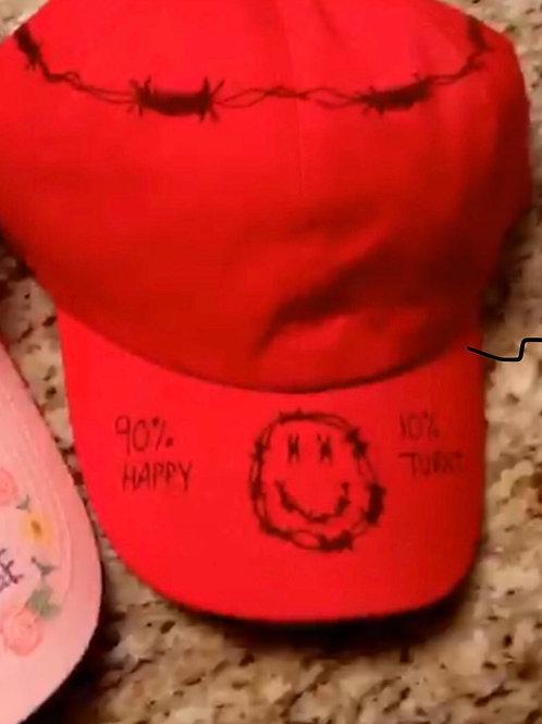 Happy/Turnt Cap