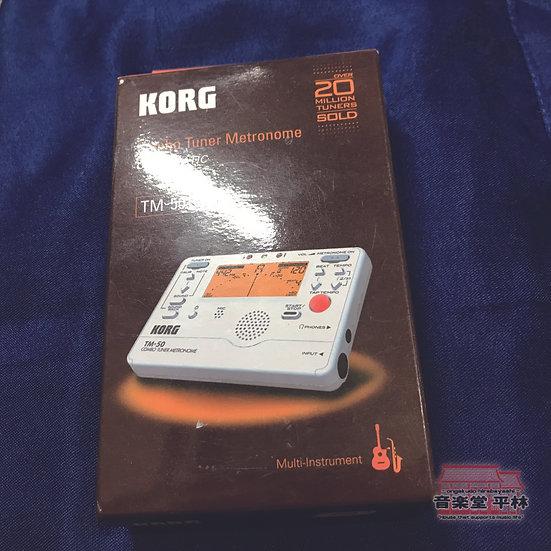 KORG TM-50 ホワイト