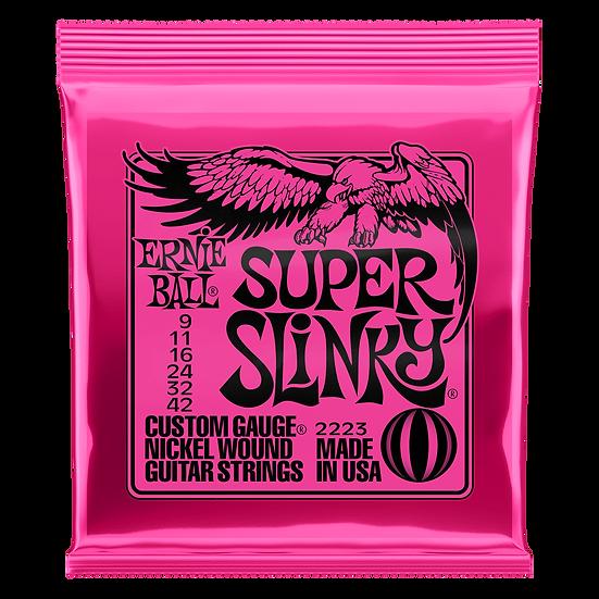 ERNIE BALL 2223 SUPER SLINKY NICKEL WOUND