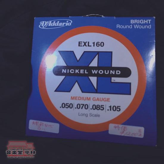 Daddario EXL160 新古品