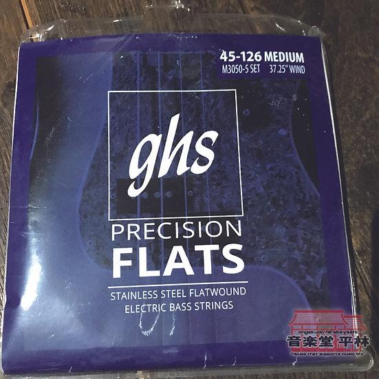 GHS  M3050X-5 BASS  FLATS 5 String