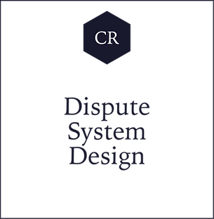 CR Dispute System Design with Adrian N.
